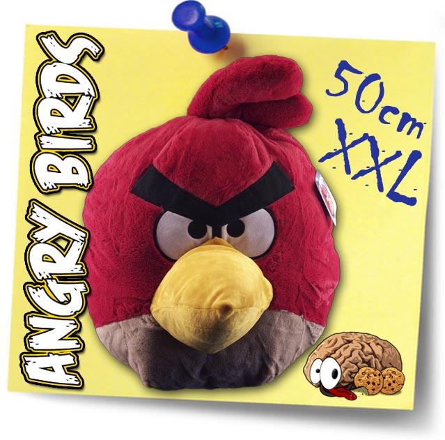 XXL Angry Birds Red 40x50x70cm Large Plush Figure Red Bird Bird ...