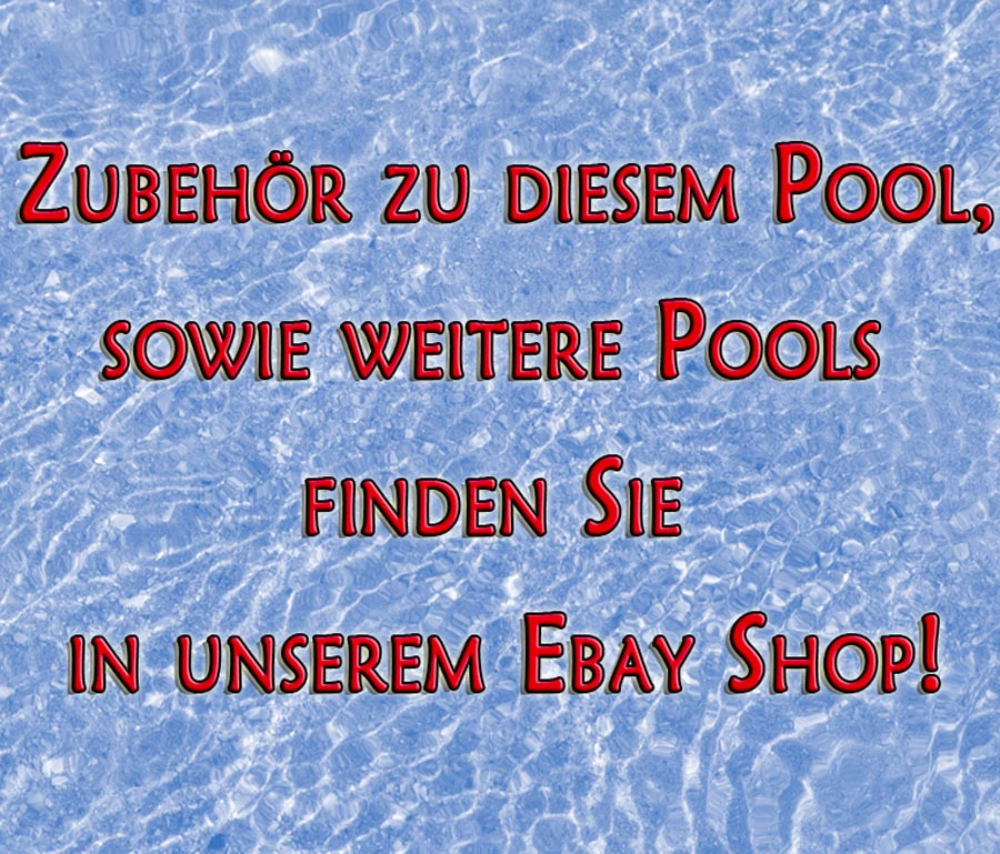 Bestway solarplane 732 x 366 cm frame pool poolheizung for Billige poolfolien