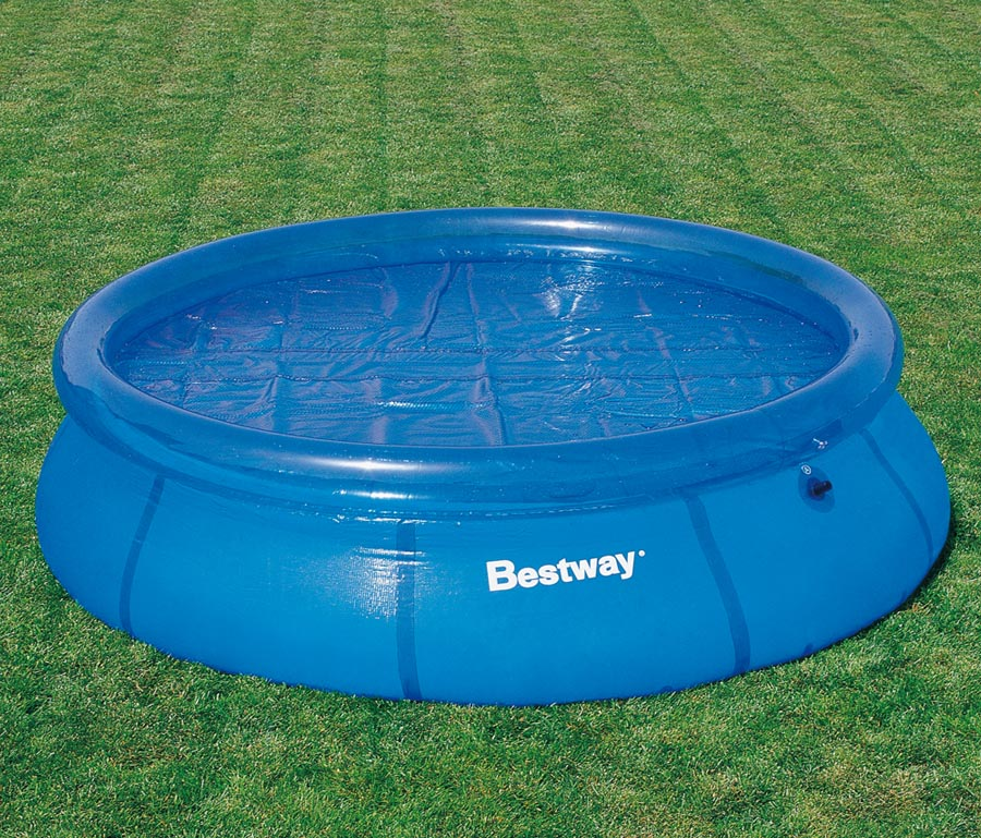 Bestway solarplane f r 549cm fast set quick up pool for Billige poolfolien