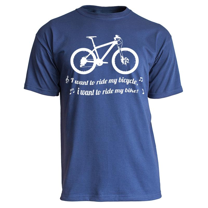 Nukular-T-Shirt-Motiv-034-I-want-to-ride-my-bicycle-034-MTB-Trikot-Fahrrad-Mountainbike