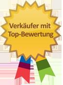 Verkäufer mit Top-Bewertung